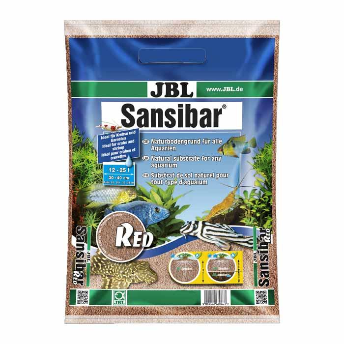 Pesak i šljunak za akvarijum: JBL Sansibar RED