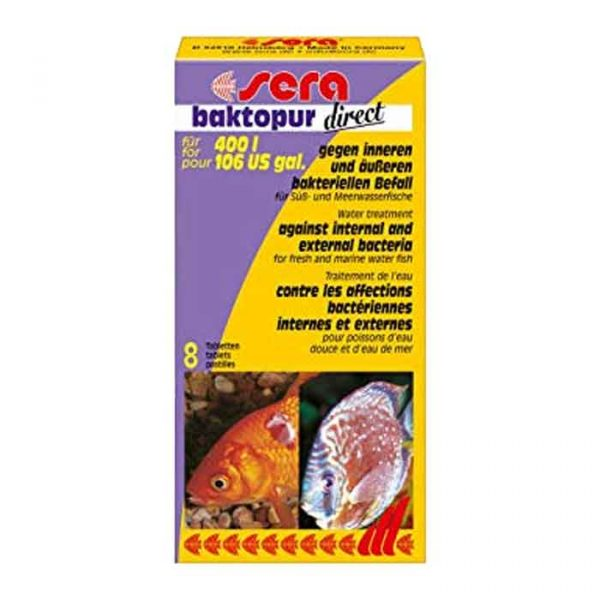 Lekovi za ribe: Sera Baktopur Direct